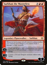 Sarkhan the Masterless, Magic: The Gathering, War of the Spark