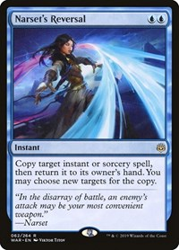 Narset's Reversal, Magic: The Gathering, War of the Spark