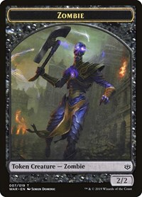Zombie Token, Magic: The Gathering, War of the Spark