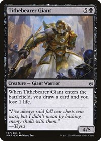 Tithebearer Giant, Magic, War of the Spark
