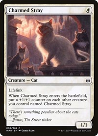 Charmed Stray, Magic: The Gathering, War of the Spark