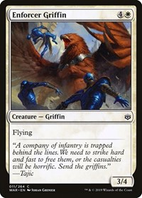 Enforcer Griffin, Magic: The Gathering, War of the Spark