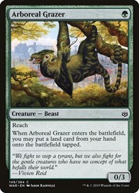 Arboreal Grazer, Magic: The Gathering, War of the Spark