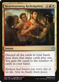 Heartwarming Redemption, Magic: The Gathering, War of the Spark