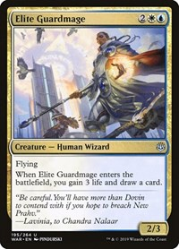 Elite Guardmage, Magic, War of the Spark