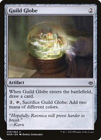 Guild Globe, Magic, War of the Spark