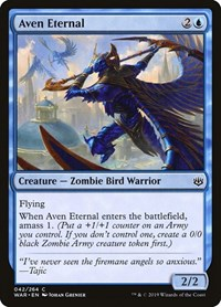 Aven Eternal, Magic: The Gathering, War of the Spark
