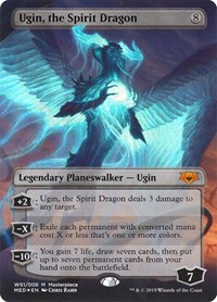 Ugin, the Spirit Dragon, Magic: The Gathering, Mythic Edition: War of the Spark