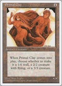 Primal Clay, Magic: The Gathering, Fourth Edition
