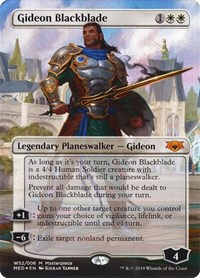 Gideon Blackblade, Magic: The Gathering, Mythic Edition: War of the Spark