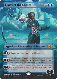Tezzeret the Seeker, Magic: The Gathering, Mythic Edition: War of the Spark