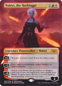 Nahiri, the Harbinger, Magic: The Gathering, Mythic Edition: War of the Spark