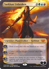 Sarkhan Unbroken, Magic: The Gathering, Mythic Edition: War of the Spark
