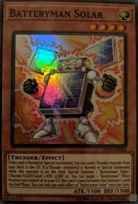 Batteryman Solar, YuGiOh, OTS Tournament Pack 10