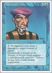 Prodigal Sorcerer, Magic: The Gathering, Fourth Edition