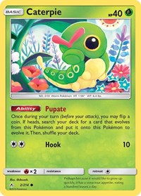Caterpie, Pokemon, SM - Unbroken Bonds
