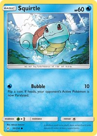 Squirtle, Pokemon, SM - Unbroken Bonds
