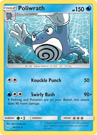Poliwrath, Pokemon, SM - Unbroken Bonds
