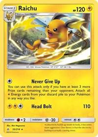 Raichu, Pokemon, SM - Unbroken Bonds