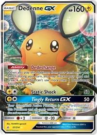 Dedenne GX, Pokemon, SM - Unbroken Bonds