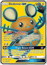 Dedenne GX (Full Art), Pokemon, SM - Unbroken Bonds