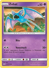 Zubat, Pokemon, SM - Unbroken Bonds