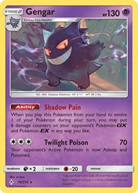 Gengar, Pokemon, SM - Unbroken Bonds