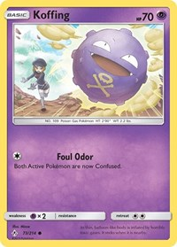 Koffing, Pokemon, SM - Unbroken Bonds