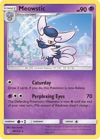 Meowstic, Pokemon, SM - Unbroken Bonds