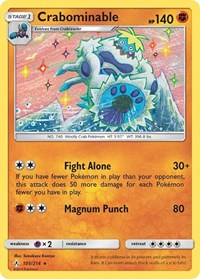 Crabominable, Pokemon, SM - Unbroken Bonds