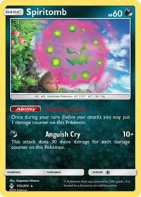Spiritomb, Pokemon, SM - Unbroken Bonds