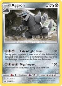 Aggron, Pokemon, SM - Unbroken Bonds