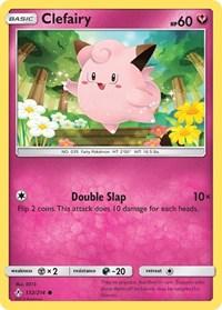 Clefairy, Pokemon, SM - Unbroken Bonds