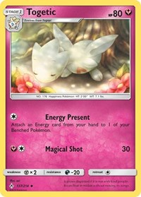 Togetic, Pokemon, SM - Unbroken Bonds