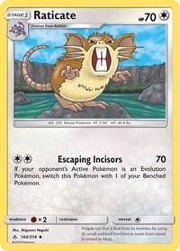 Raticate, Pokemon, SM - Unbroken Bonds