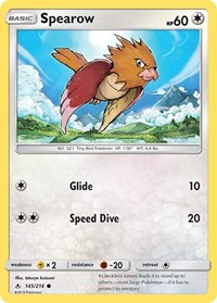 Spearow, Pokemon, SM - Unbroken Bonds