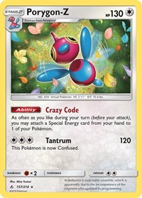 Porygon-Z, Pokemon, SM - Unbroken Bonds