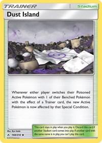 Dust Island, Pokemon, SM - Unbroken Bonds