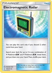Electromagnetic Radar, Pokemon, SM - Unbroken Bonds