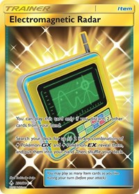 Electromagnetic Radar (Secret), Pokemon, SM - Unbroken Bonds