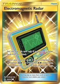 Electromagnetic Radar (Secret), Pokemon, SM - Unbroken Bonds