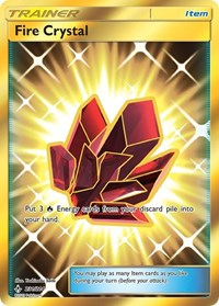 Fire Crystal (Secret), Pokemon, SM - Unbroken Bonds