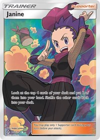 Janine (Full Art), Pokemon, SM - Unbroken Bonds