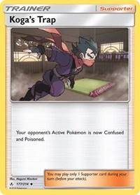 Koga's Trap, Pokemon, SM - Unbroken Bonds