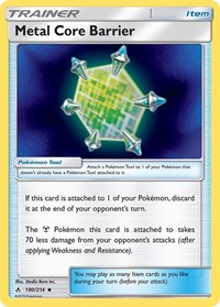 Metal Core Barrier, Pokemon, SM - Unbroken Bonds