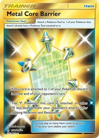 Metal Core Barrier (Secret), Pokemon, SM - Unbroken Bonds