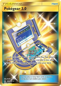 Pokegear 3.0 (Secret), Pokemon, SM - Unbroken Bonds