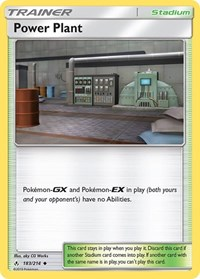 Power Plant, Pokemon, SM - Unbroken Bonds
