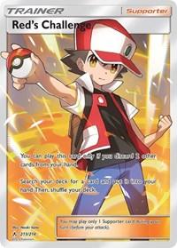 Red's Challenge (Full Art), Pokemon, SM - Unbroken Bonds