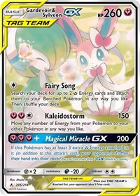 Gardevoir & Sylveon GX (205) (Full Art), Pokemon, SM - Unbroken Bonds